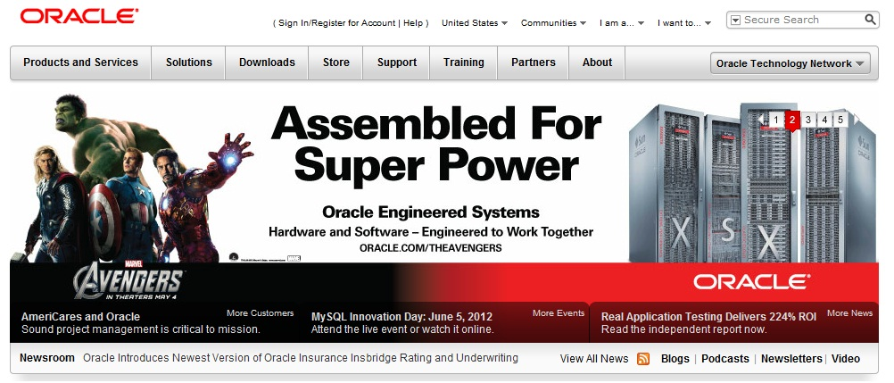 Oracle and The Avengers: A Technology Copywriter's Dream